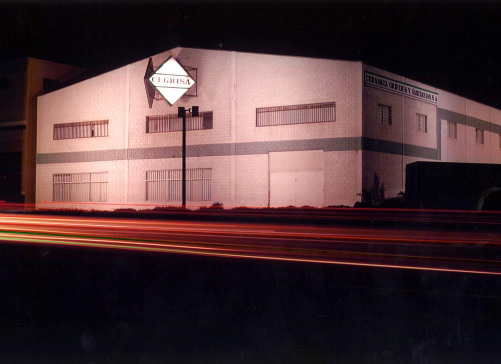 Nave de almacén Cegrisa El Goro en 1989